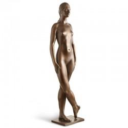Ballerina bronze sculpture