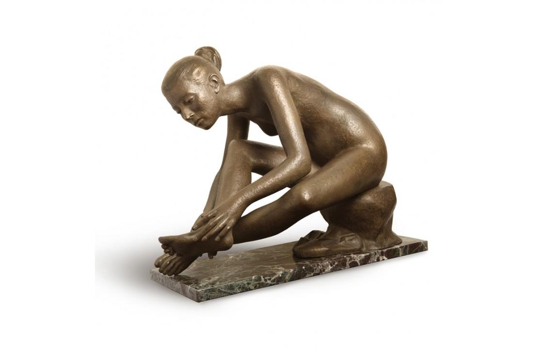 Statua in bronzo - Dopo la Danza