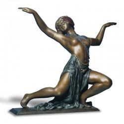 Scultura in bronzo - Baiadera