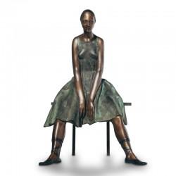 Ballerina Resting bronze...