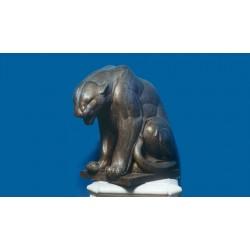 Statua in bronzo - Pantera...