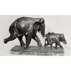 Statua in bronzo - Primi Passi
