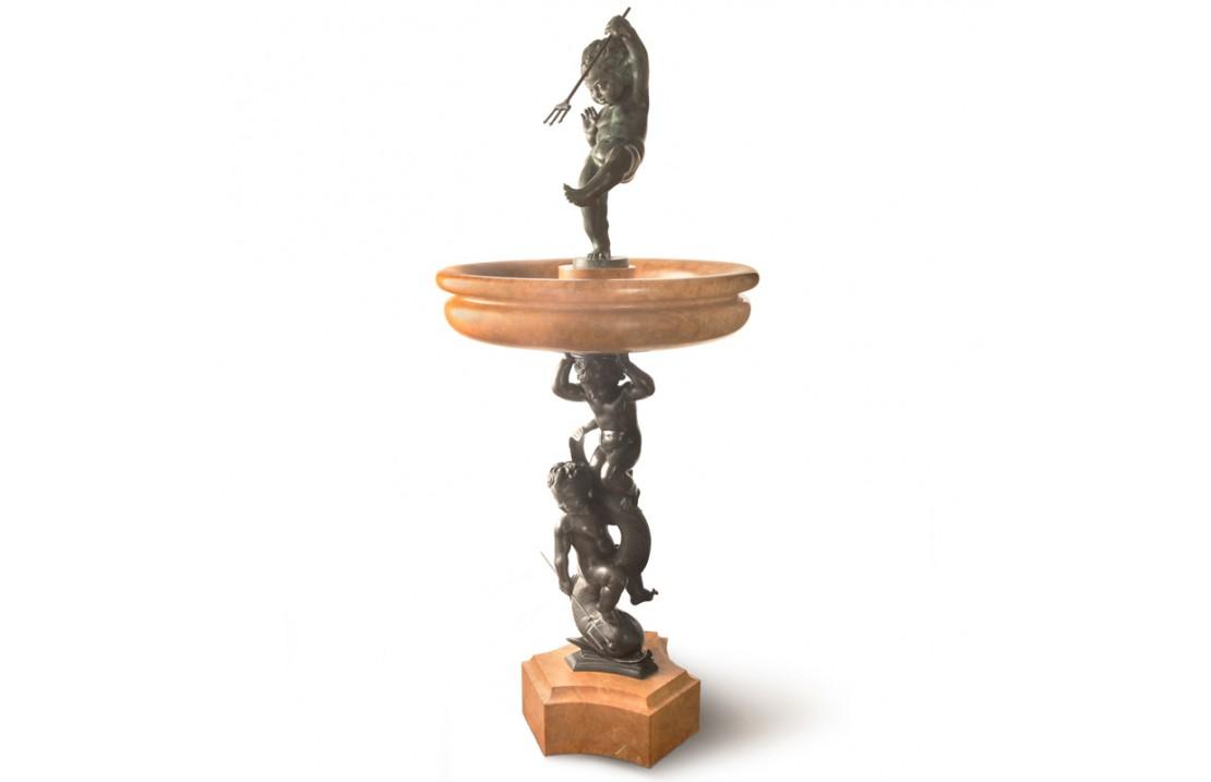 The Children's Fountain bronze statue