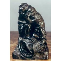 Statua in bronzo - Scimmie