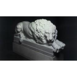 Statua in marmo - Leone