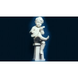 Statua in marmo - Mandolinista