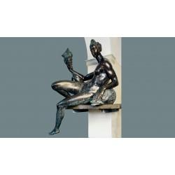 Statua in bronzo - Naiade...