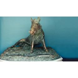 Statua in bronzo - Porcellino