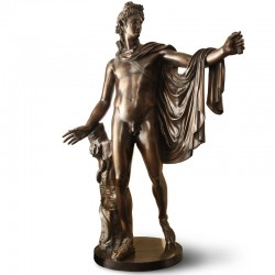Bronze statue - Apollo...