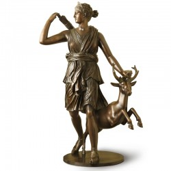 Diana the Huntress bronze...