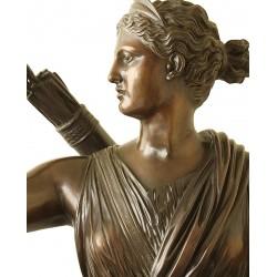 Statua in bronzo - Diana Cacciatrice