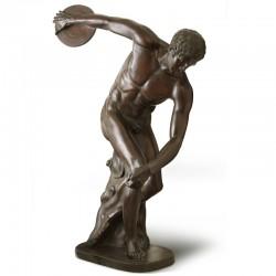 Discus Thrower bronze statue