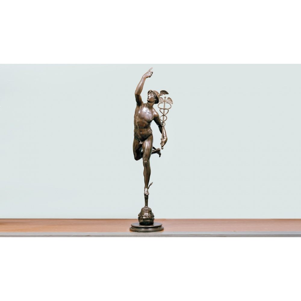 MERCURY, COPY OF THE ORIGINAL BY GIAMBOLOGNA, BARGELLO MUSEUM