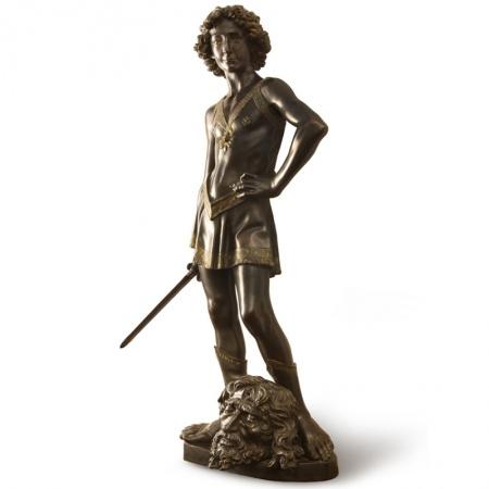 David bronze sculpture
