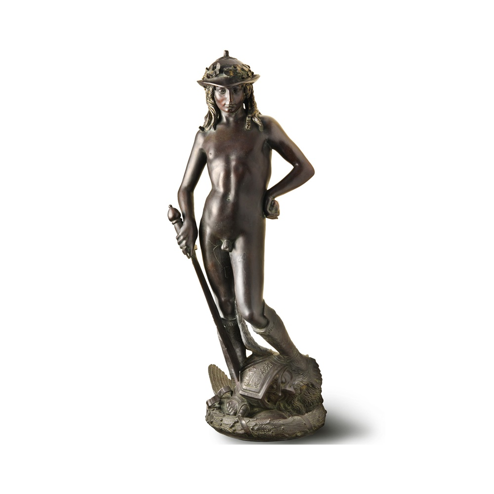 David bronze statue