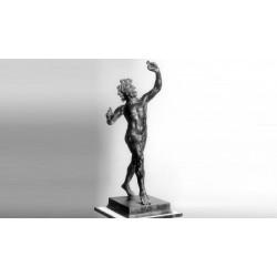 Statua in bronzo - Fauno danzante