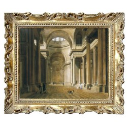 Interior of the Pantheon...