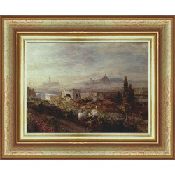 VIEW OF FLORENCE, OSWALD...