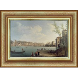 A VIEW OF THE RIVER ARNO...