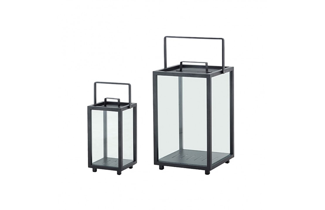 Lanterna in vetro e alluminio - Lighthouse