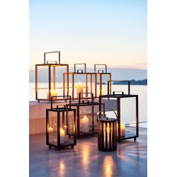 Lantern in glass aluminium - Lighthouse