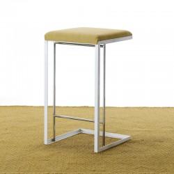 Upholstered stool H46/63/75...