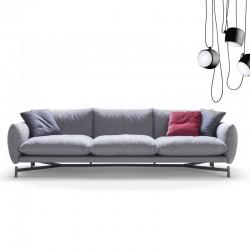 Kom 2/3 seater padded sofa