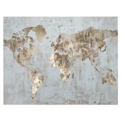 Map, quadro acrilico su tela 76x100