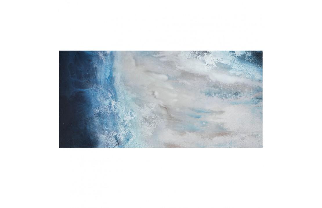 Space, quadro acrilico su tela 76x150