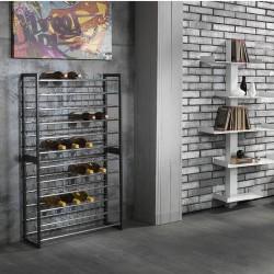 Wine Cellars in chromed metal