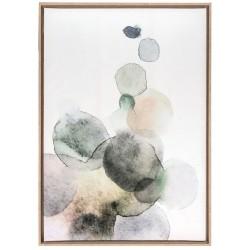Bubbles, quadro 70x100 con cornice