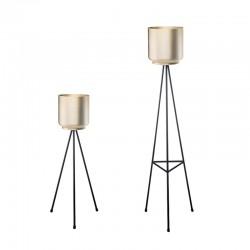 Tripod, metal round pot cover