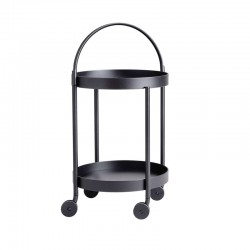 Food trolley in aluminium -...