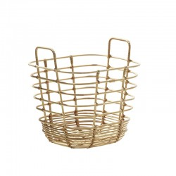Basket in rattan - Sweep