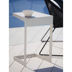Tavolino da esterno in alluminio - Time-in