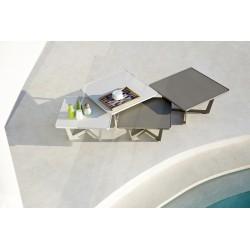 Tavolino da giardino in alluminio - Time-out