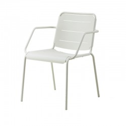 Garden chair in aluminium -...