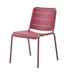 Stackable chair in aluminium - Copenhagen