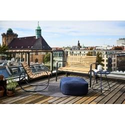 Panca da esterno in legno e alluminio - Parc