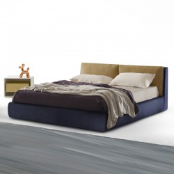 Mise Plus padded, double bed