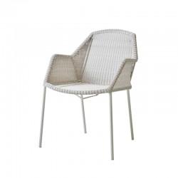 Sedia da esterno impilabile in rattan - Breeze