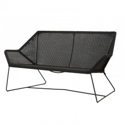 Outdoor sofa in rattan - Breeze