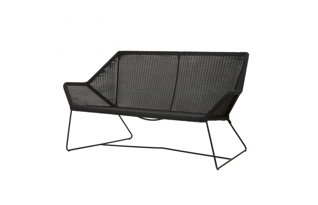 Outdoor sofa in rattan - Breeze
