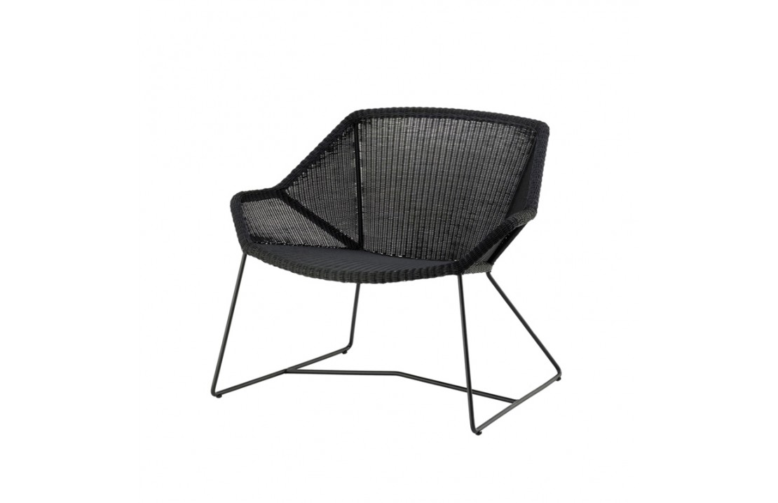 Outdoor chair lounge in rattan - Breeze