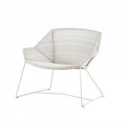 Sedia da esterno lounge in rattan - Breeze