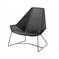 Garden lounge armchair in...
