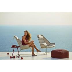 Poltrona da esterno lounge in rattan - Breeze