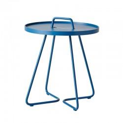 Tavolino con top estraibile in alluminio - On the move S