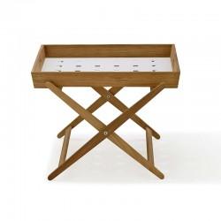 Tavolino pieghevole in teak...