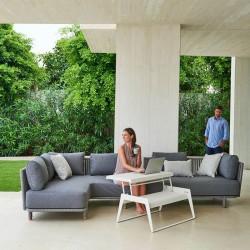 Modular Outdoor Sofa in Fabric - Moments